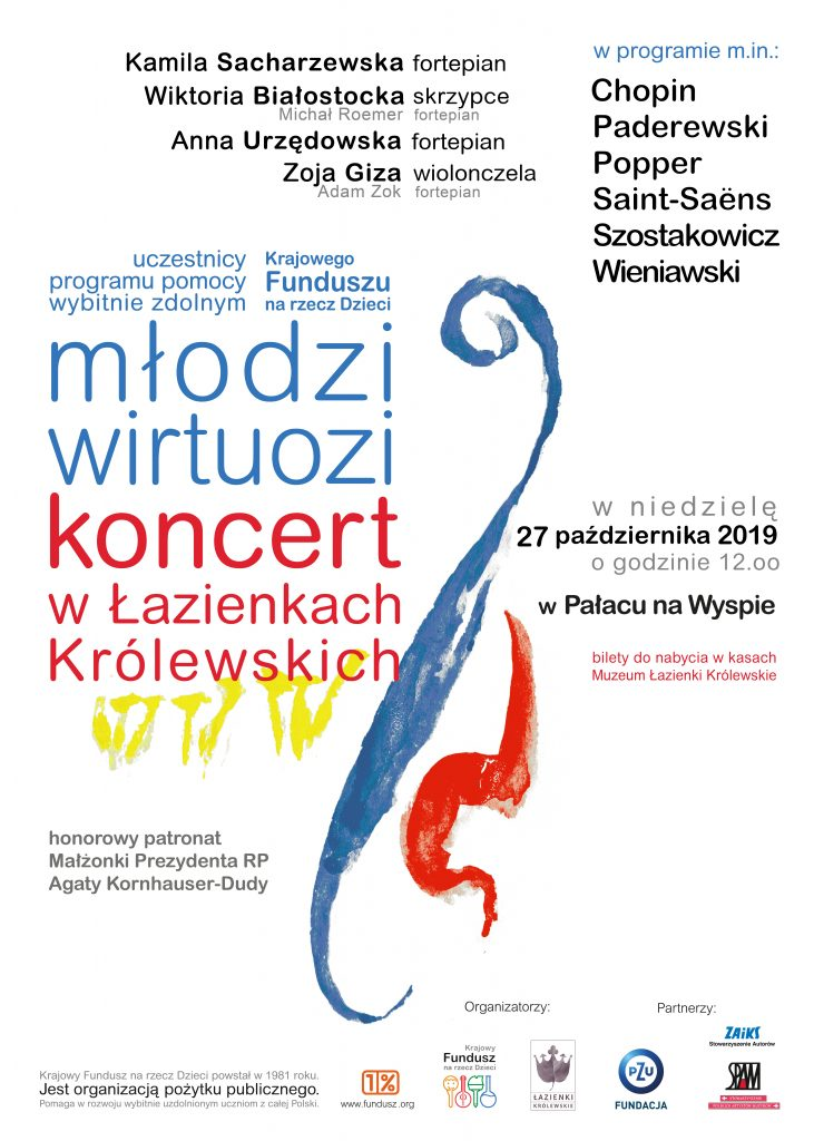 plakat - koncert