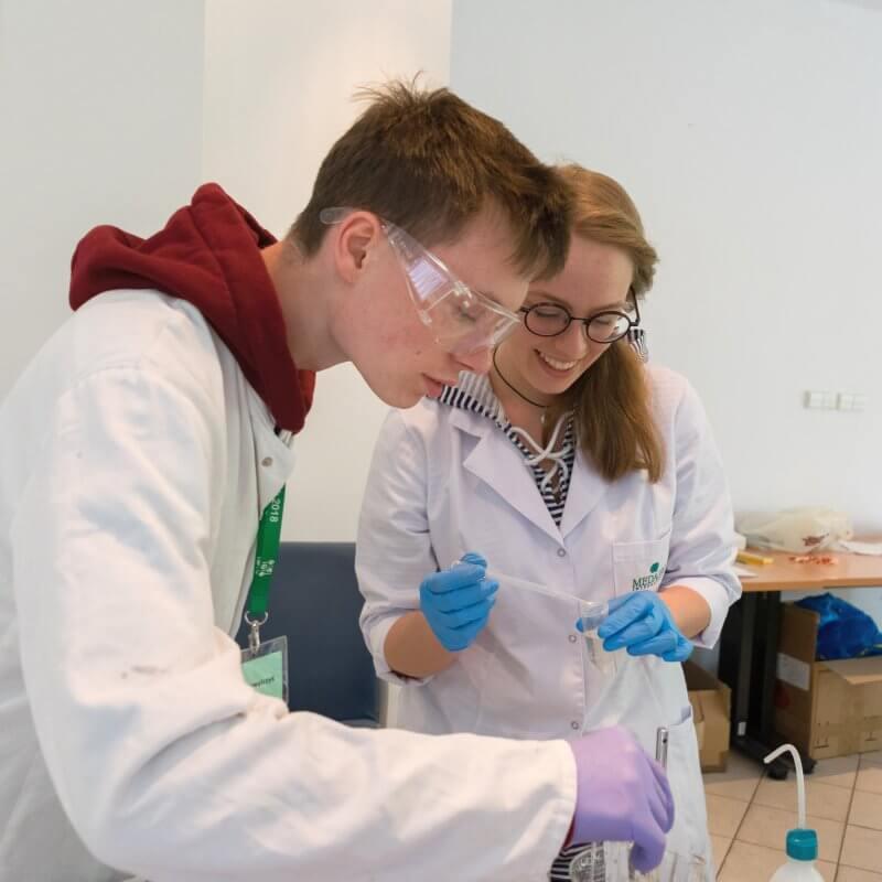 naukowcy - obóz naukowy w Serocku 2018