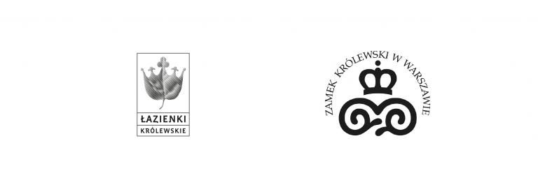 Logo: Łazienki Królewskie i Zamek Królewski w Warszawie