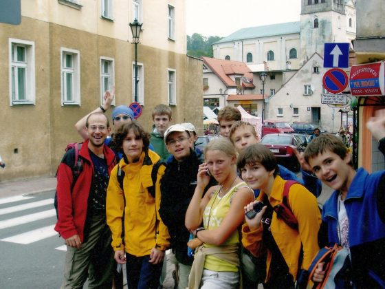 Uczestnicy obozu w Pasterce, 2006