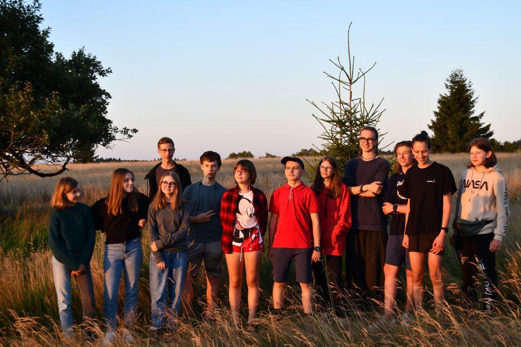 obóz naukowy dla młodzieży w Pasterce 2021
